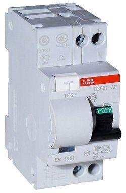 ABB Автомат дифференциального тока ABB DS951 A-C25/0.5A (16025402)