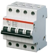 ABB Автоматический выключатель ABB S204P B10 четырехполюсный (2CDS284001R0105)
