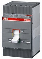 ABB Выключатель автоматический ABB S3X 125 Im=100...300 R25A 3p F F для защиты электродвигателей (1SDA045387R1)
