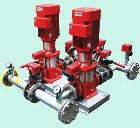 Grundfos Установка пожаротушения Grundfos Hydro MX 1/1 CR64-3 3x400V 50Hz (98592530)