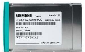 Siemens Карта памяти Siemens SIMATIC-SIPLUS S7-400 - RAM 16 Mb, на базе 6ES7952-1AS00-0AA0 (6AG1952-1AS00-4AA0)